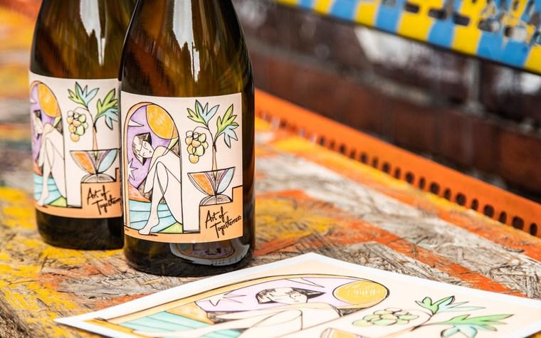 """""""Art of Togetherness"""" – Rindchen's Weinkontor mit limitiertem Wein zur Millerntor Gallery"""