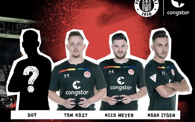 congstar sucht Dich: Werde eFootball-Spieler*in beim FC St. Pauli!