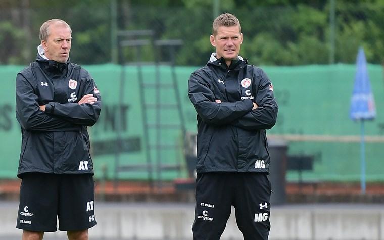 Der FC St. Pauli stellt sein Trainerteam neu auf