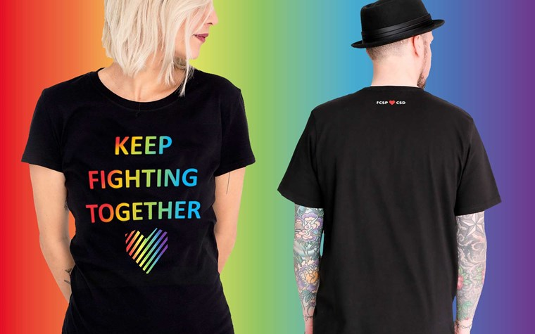 Keep Fighting together – FCSP-Shirt zur Pride Week ab sofort verfügbar