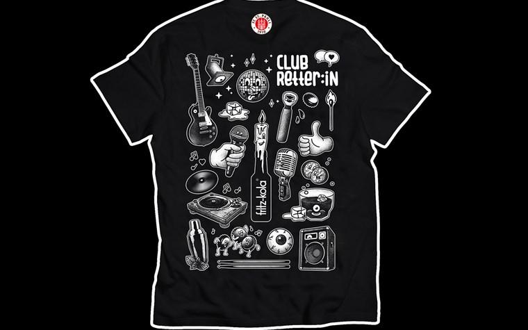 Nachschub an Clubretter*in-Shirts in Budnikowsky-Filialen erhältlich