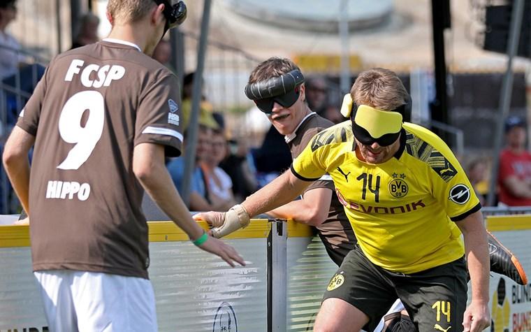 1:0 gegen BVB - Blindenfußballer starten erfolgreich und stehen vor wichtigen Duellen