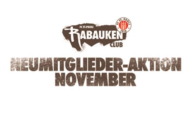Gewinnspiel für neue Mitglieder im Rabauken-Club