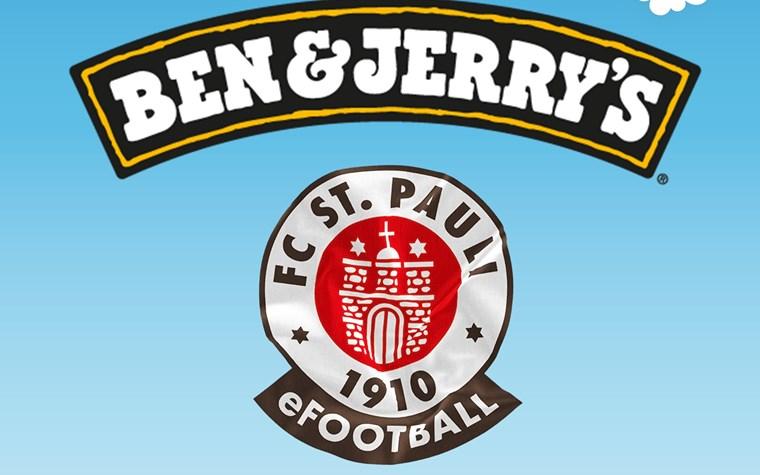 Ben & Jerry's wird exklusiver Partner der FC St. Pauli FIFA Pro Club Teams