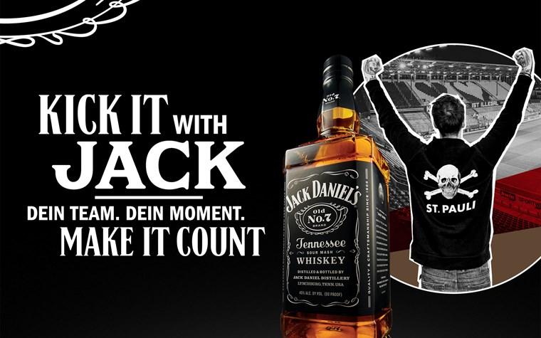 """Kick It With Jack"": Kooperation mit Jack Daniel's gestartet"