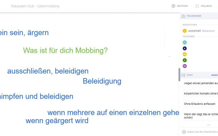 Rabauken gegen Cybermobbing!