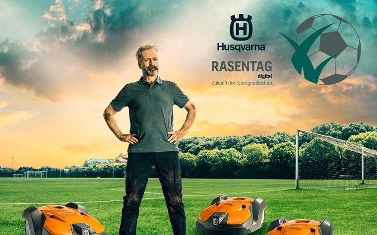 Husqvarna-Rasentag - Einblick in die Zukunft der Sport-Grünflächen