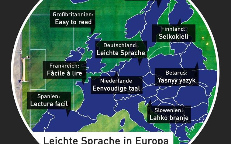 """""""Leichte Sprache"""" in Europa"""