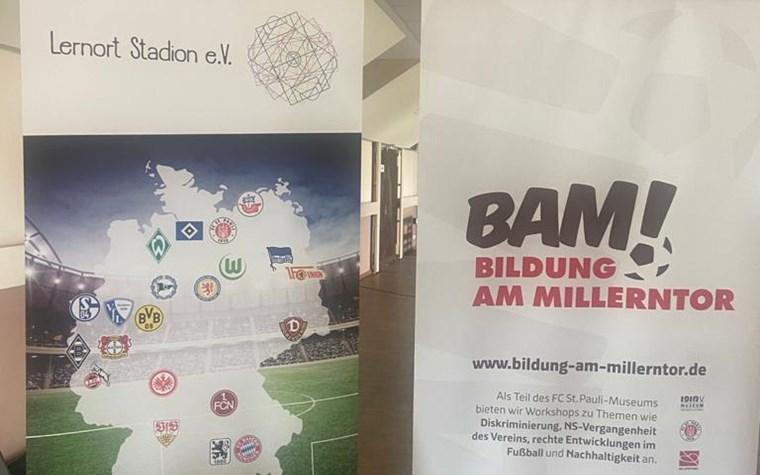 FCSP-Rabauken: Workshops mit BAM! Bildung am Millerntor