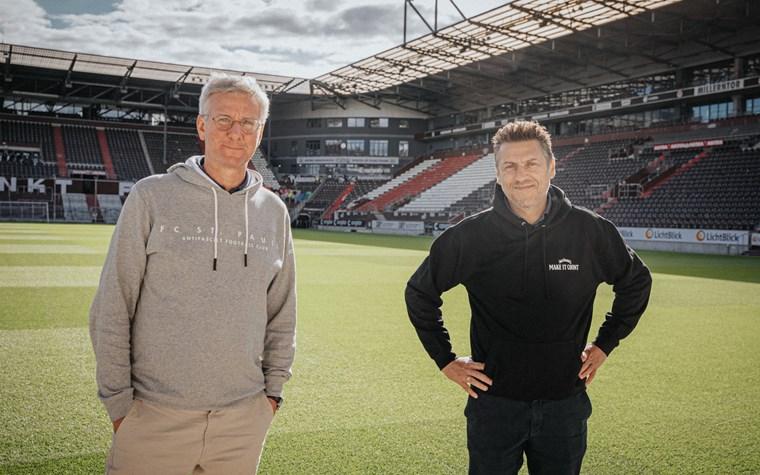 Der FC St. Pauli und JACK DANIEL'S verlängern ihre Partnerschaft