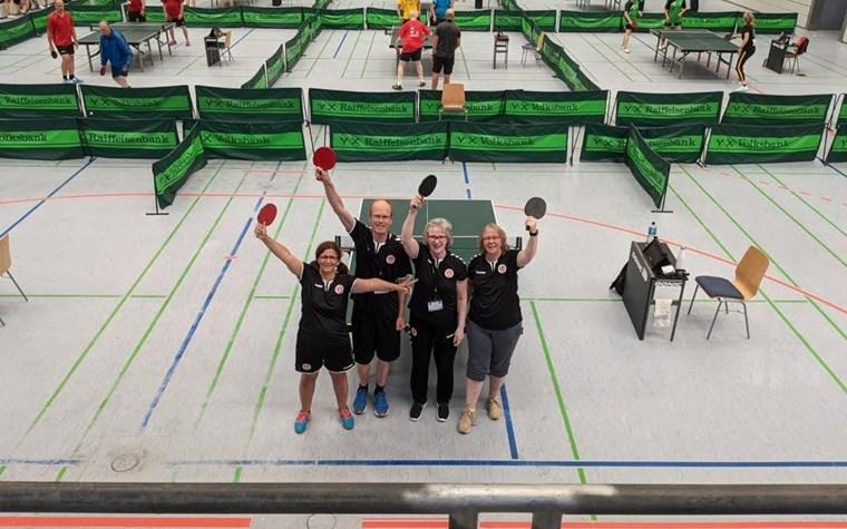 Bei ersten PingpongParkinson German Open: eine Medaille für Sankt Pauli!