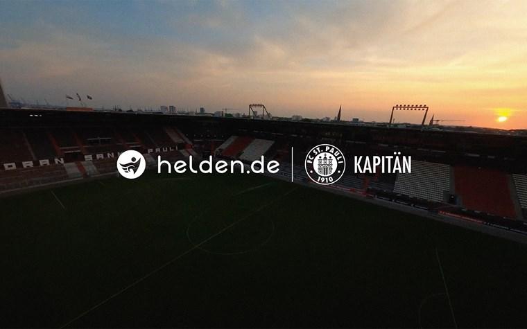 Der FC St. Pauli und helden.de bauen Partnerschaft aus