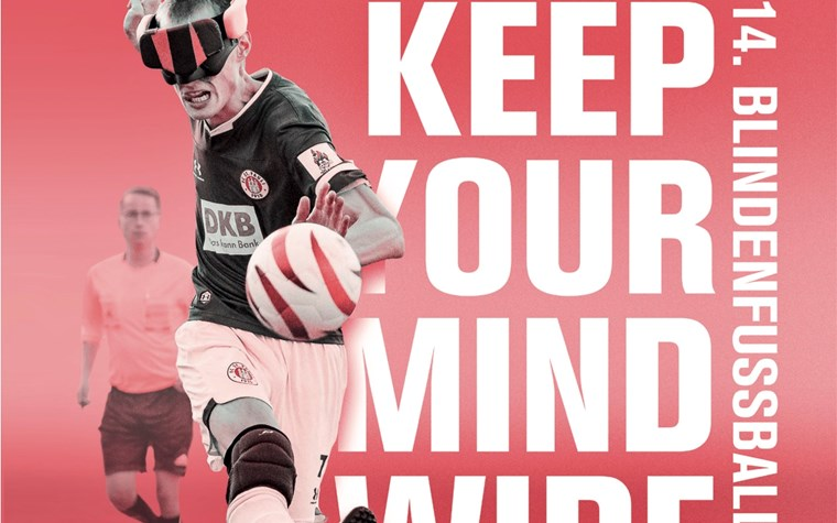 """""""Keep your mind wide open"""" - FCSP-Blindenfußballteam lädt zum 14 . Masters ein"""