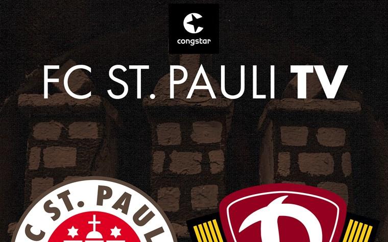 FC St. Pauli TV live - unsere Heimspielsendung nach dem Spiel gegen Dresden
