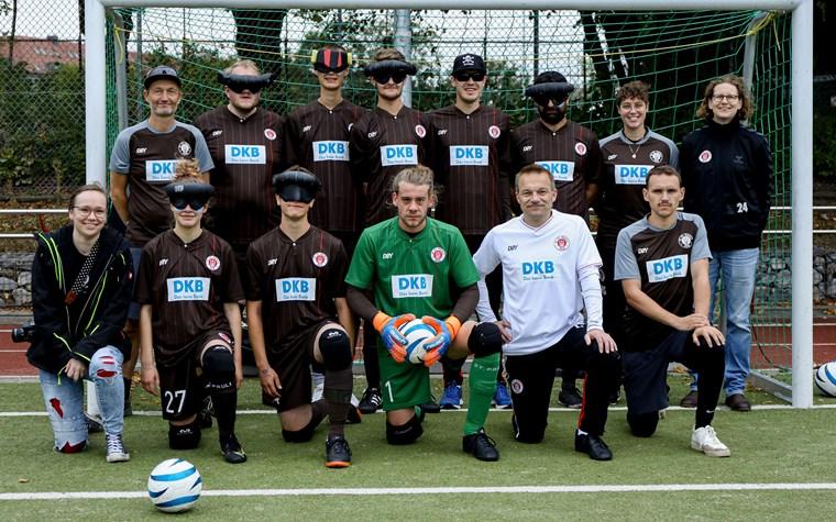 """FCSP-Blindenfußballteam sichert sich """"Endspiel"""" gegen Meister Stuttgart"""