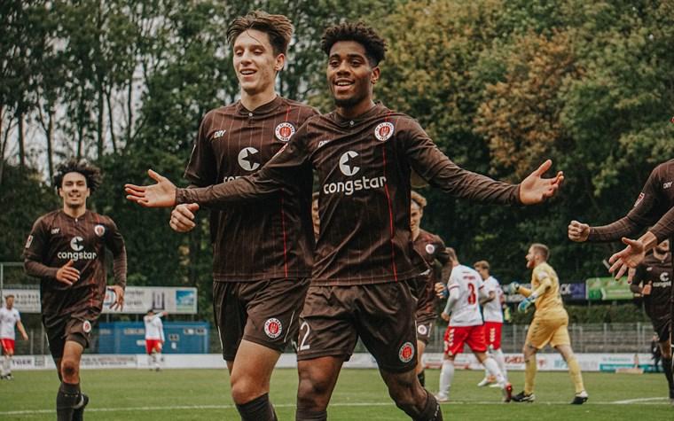 Loubongos Schuss ins Glück: U23 besiegt den VfB Lübeck