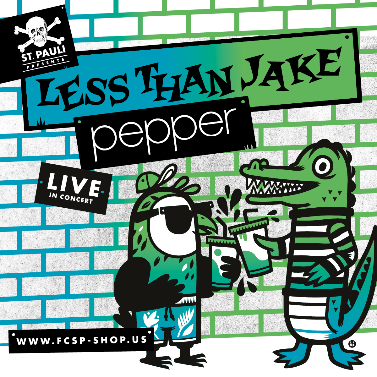 ST. PAULI PRESENTS: Less Than Jake & Pepper