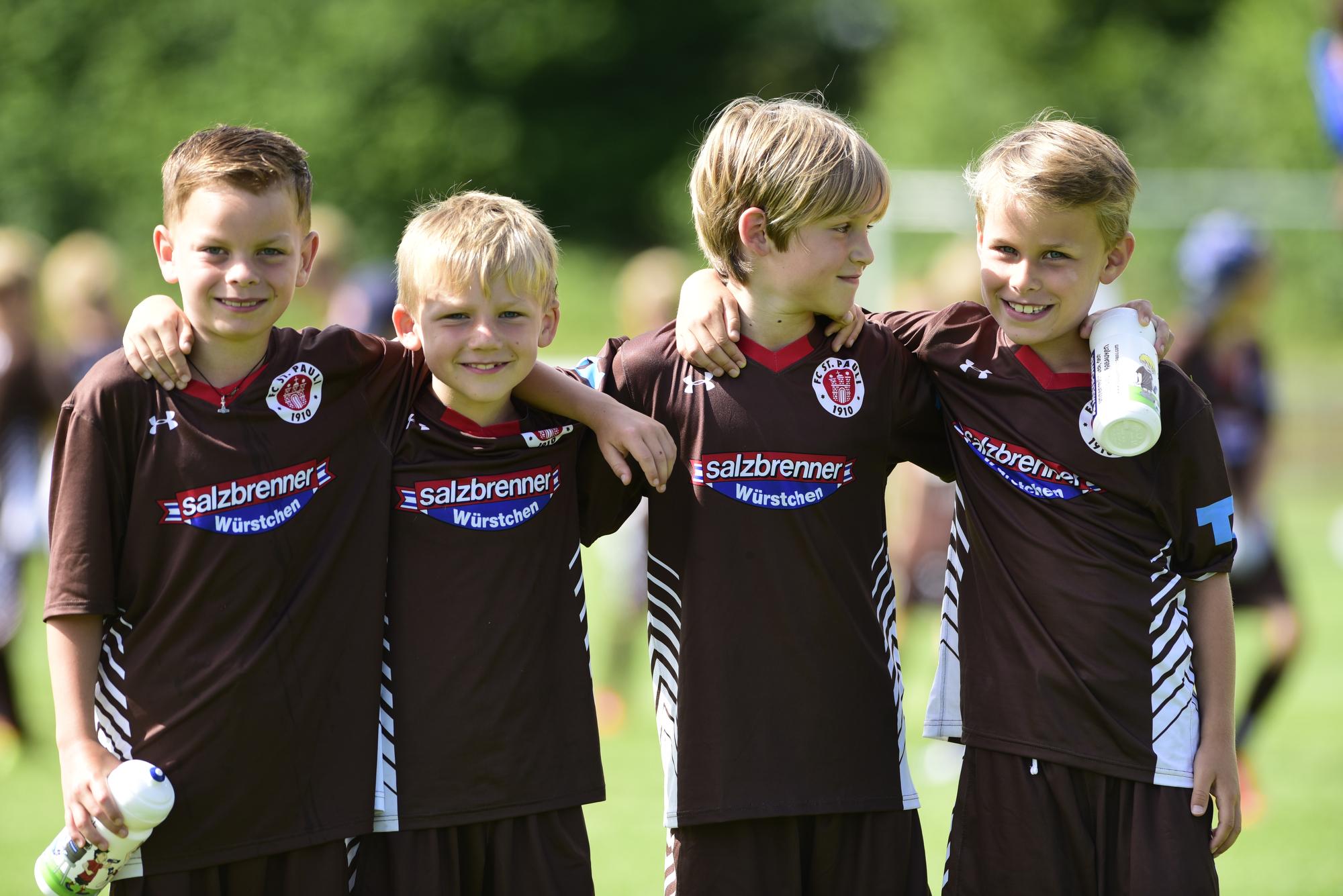 Die neue FC St. Pauli Rabauken Fußballcamp-Saison startet!