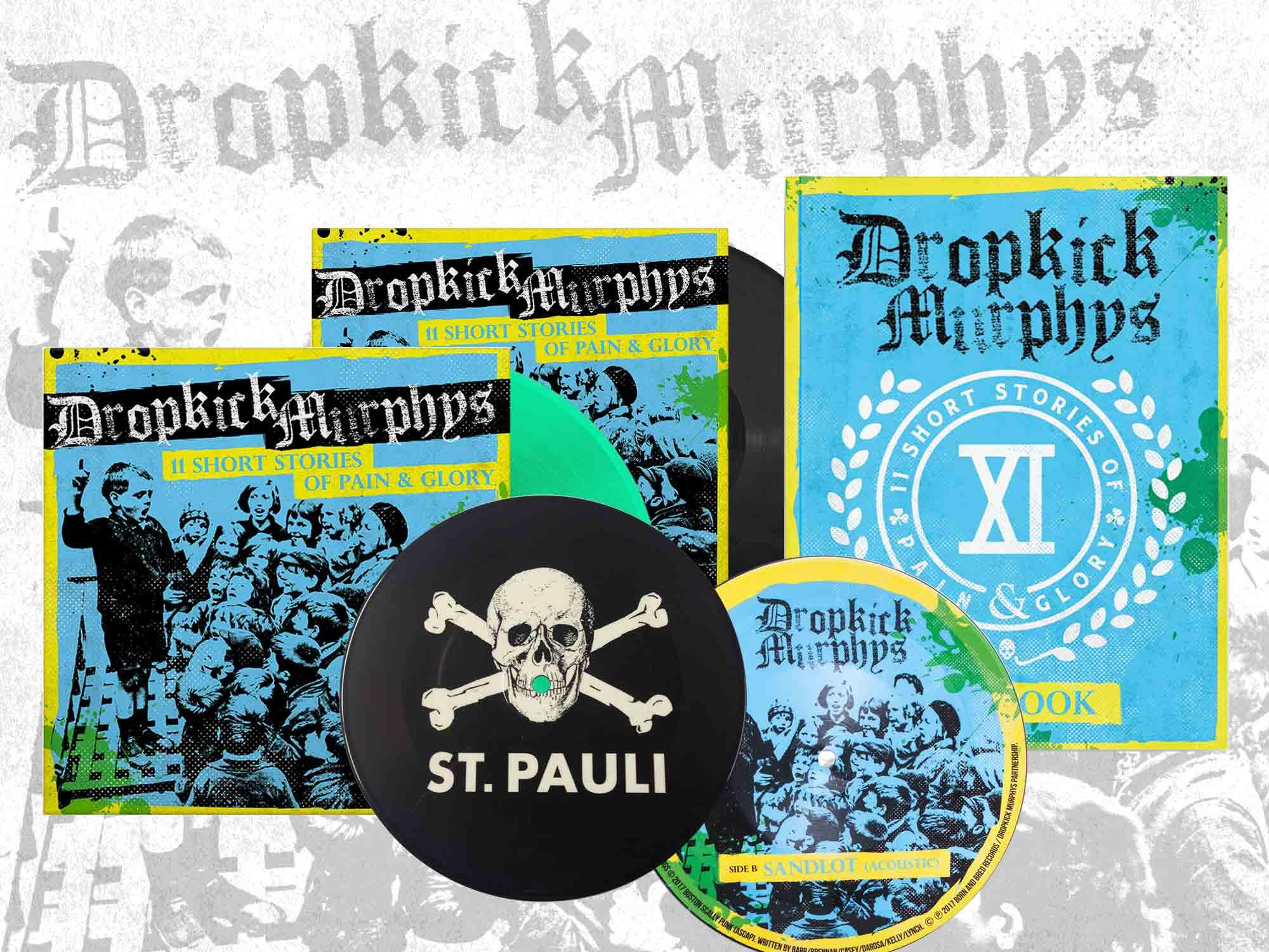 Sichert Euch die letzten Dropkick Murphys Vinyls und CDs