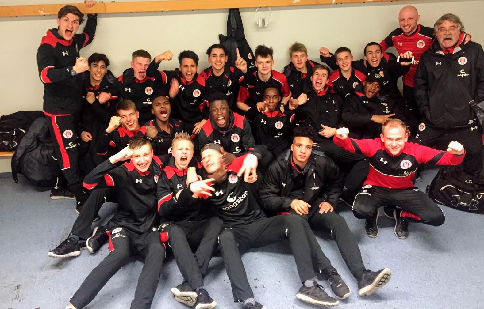 U17 dreht Derby in Rostock - U16 und U15 unterliegen Wolfsburg