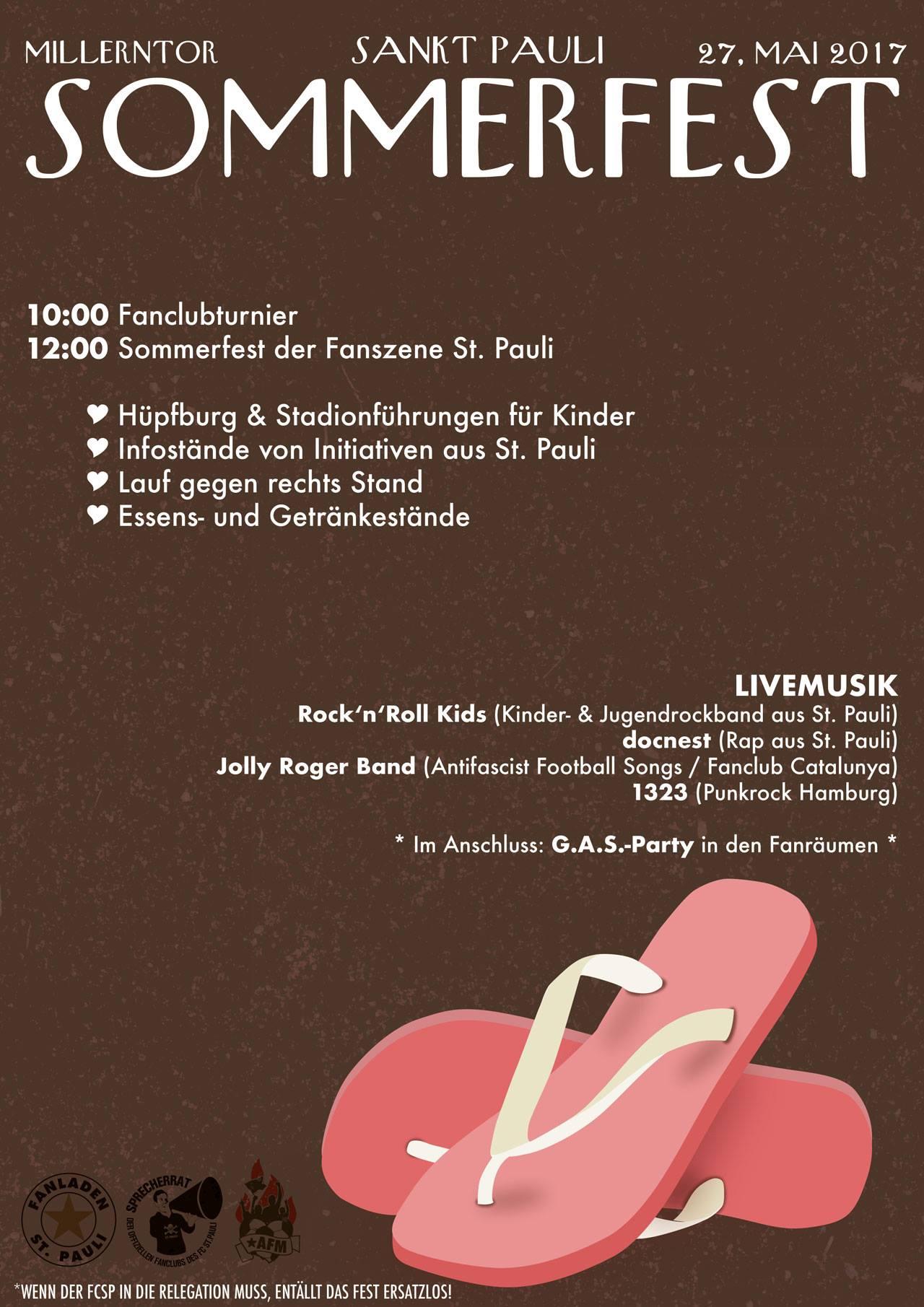 Sommerfest der Fanszene und Fanclub-Turnier im Millerntor-Stadion