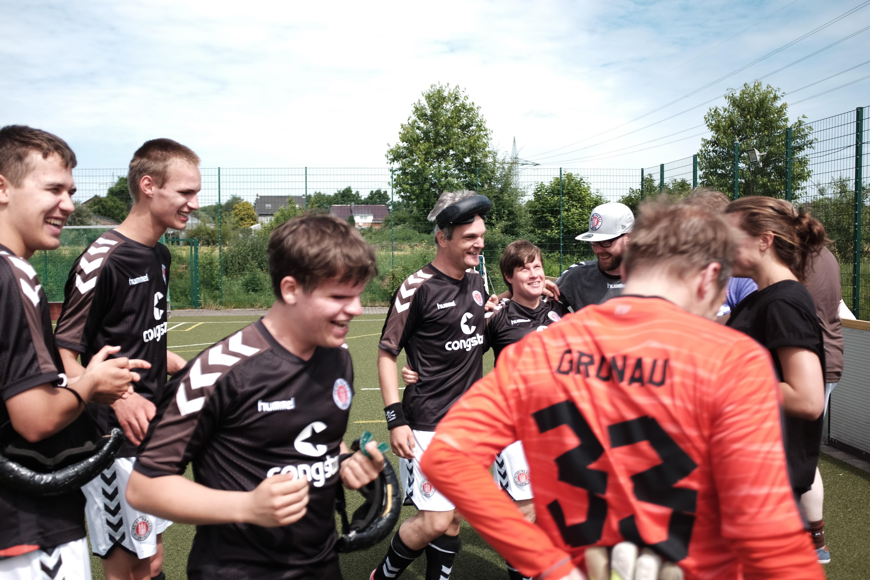 Finaler Ligaspieltag in Stuttgart: Drei Partien für unsere Blindenfussballer