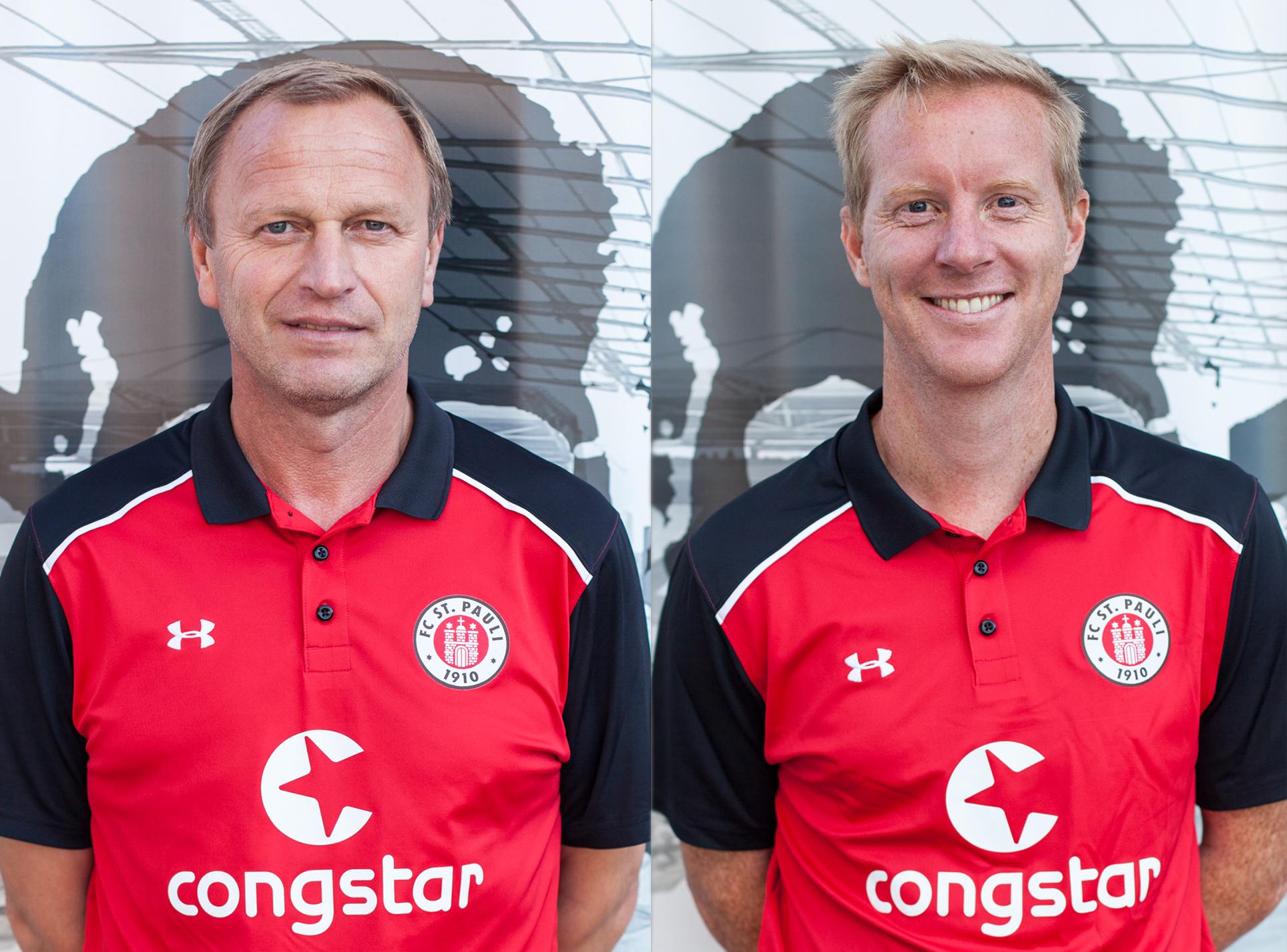 Der FC St. Pauli verlängert mit zwei Nachwuchstrainern