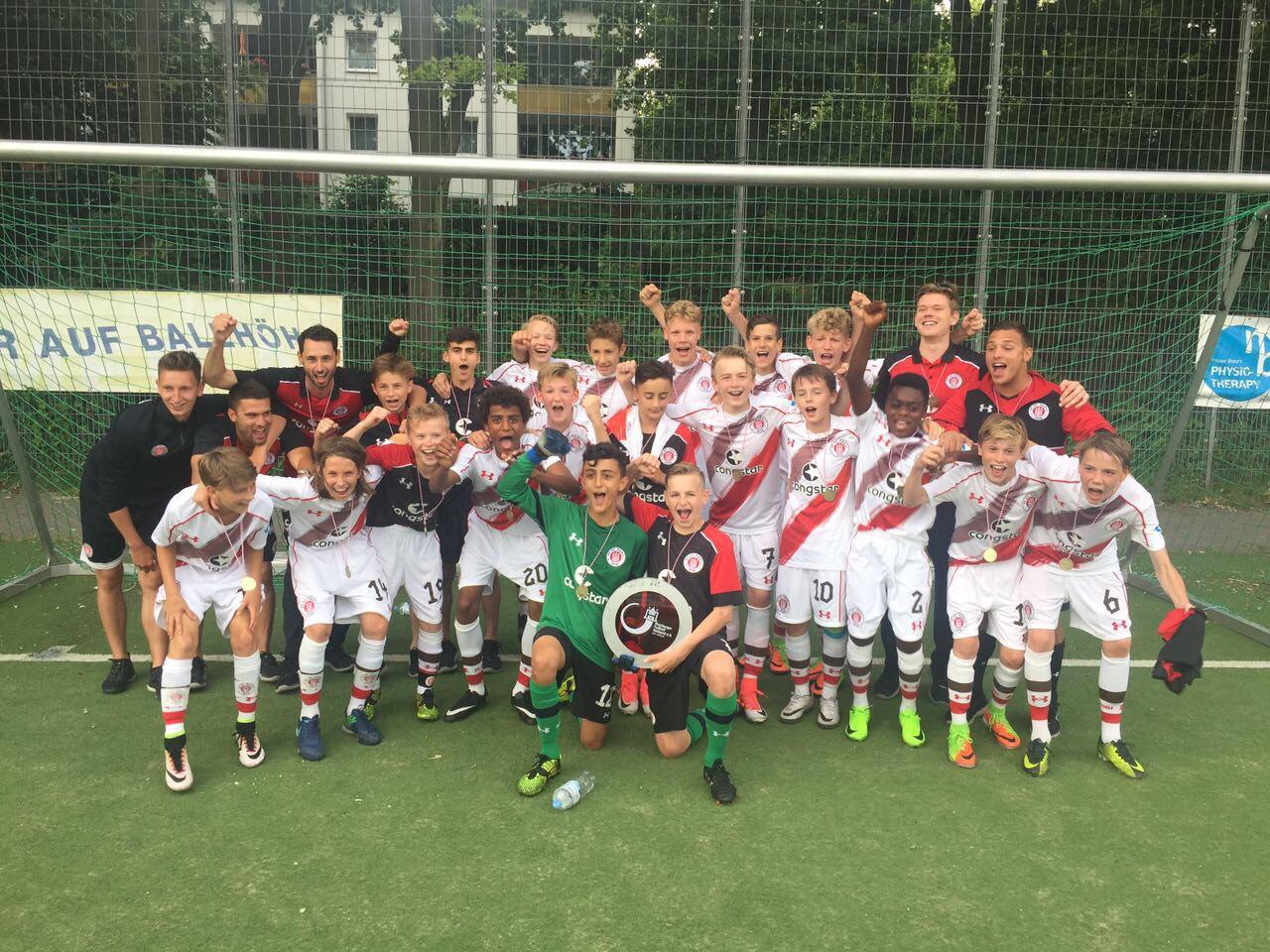 U14 sichert Meisterschaft und Regionalliga-Startplatz