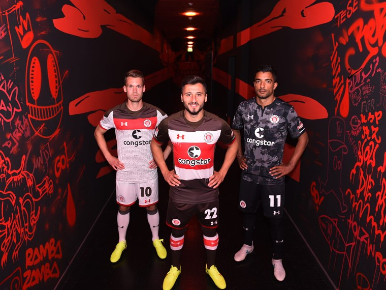 online retailer 19b9d 1f6ab New shirts unveiled - FC St. Pauli
