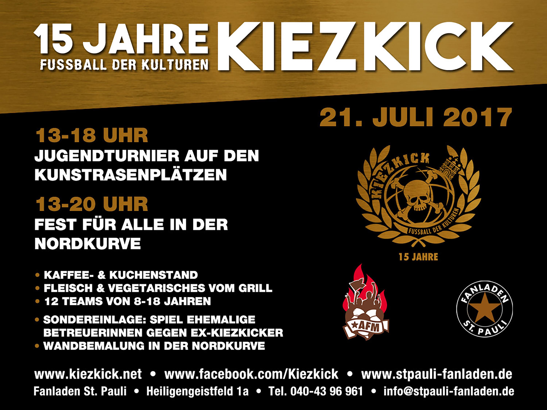 KiezKick - Fußball der Kulturen feiert 15-jähriges Jubiläum