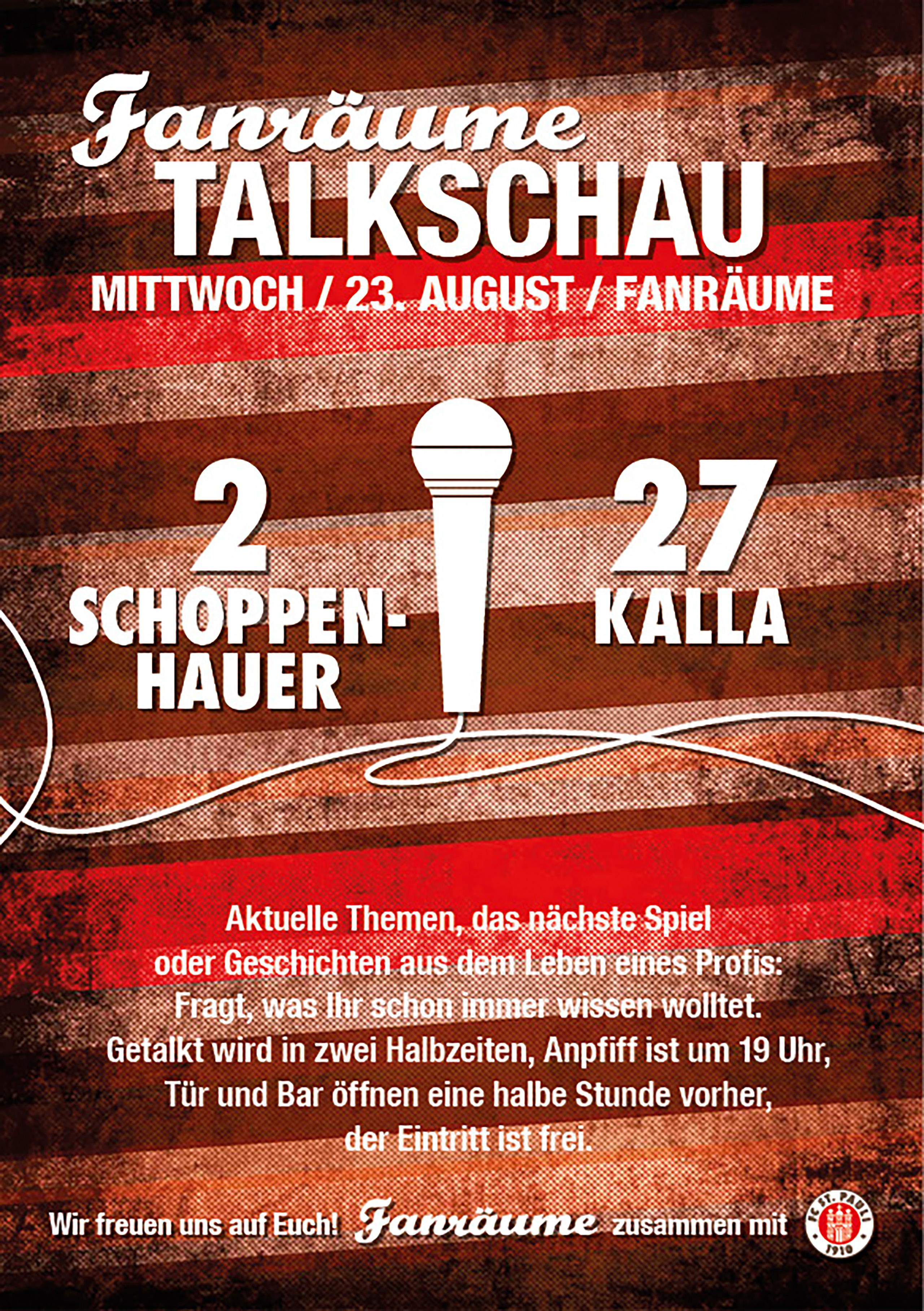 Fanräume Talkschau Vol. 23 mit Schoppe und Schnecke