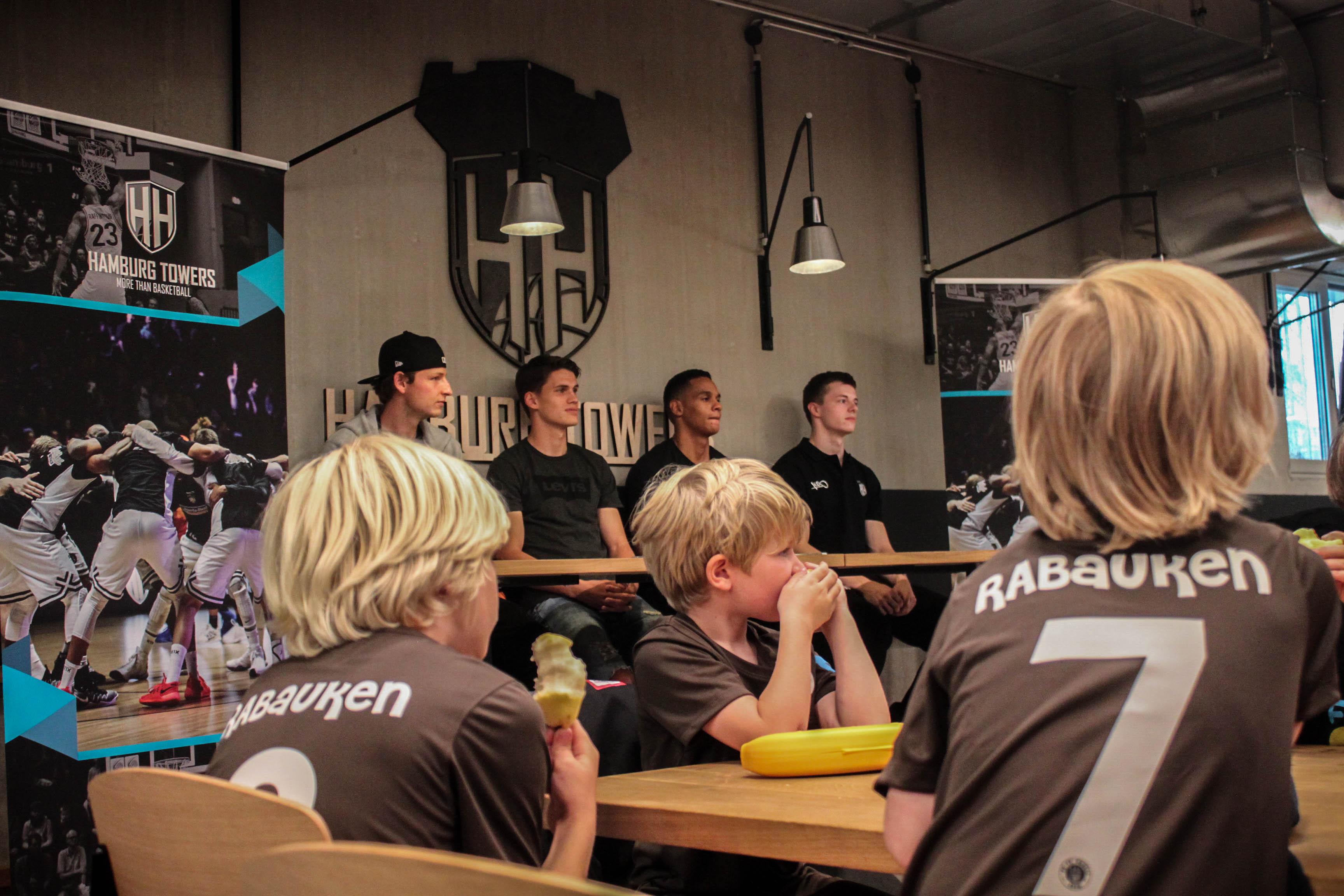 Zweites Basketball-/Fussballcamp mit den Hamburg Towers