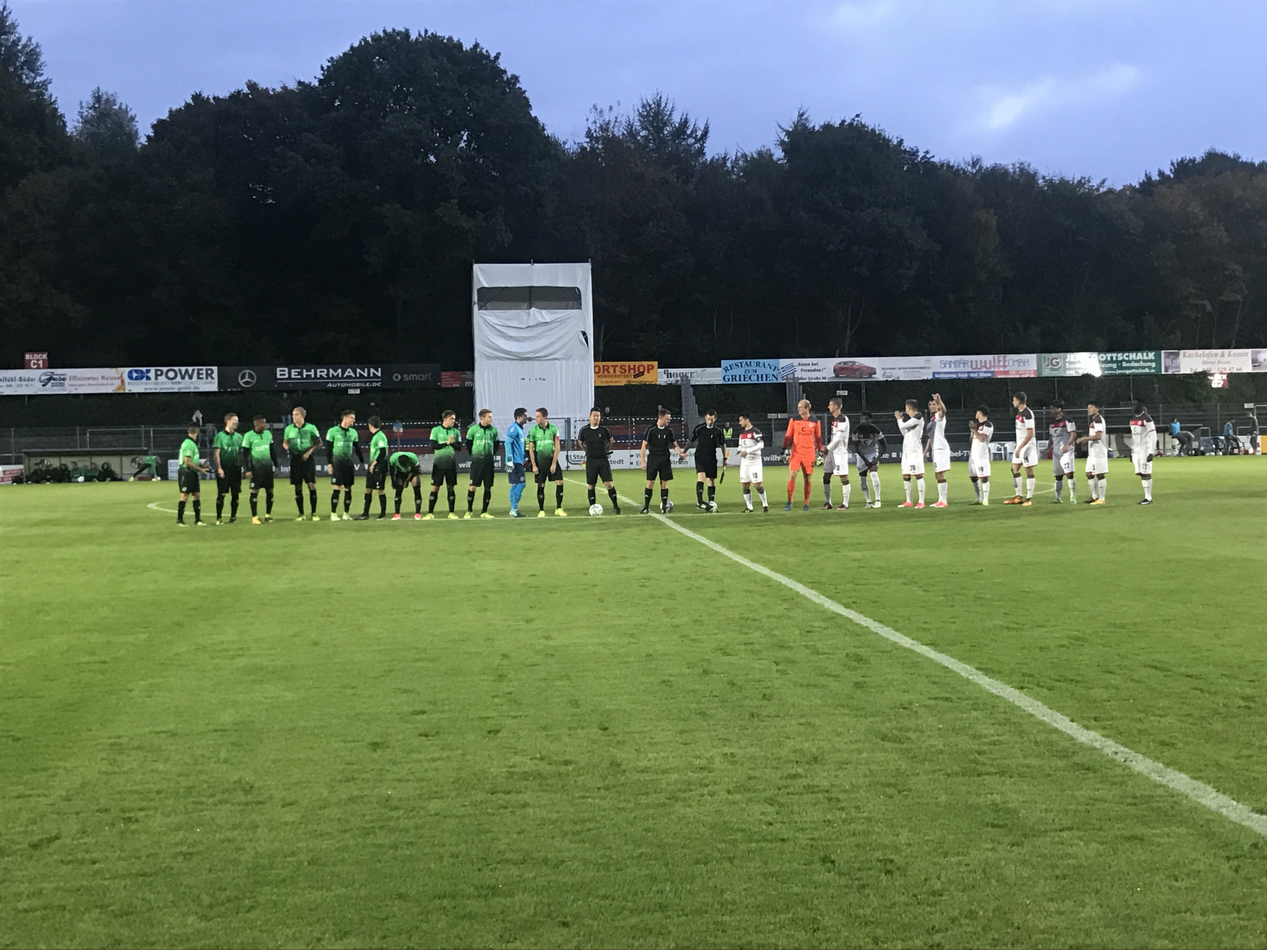 U23 kassiert zweite Niederlage gegen Hannover II