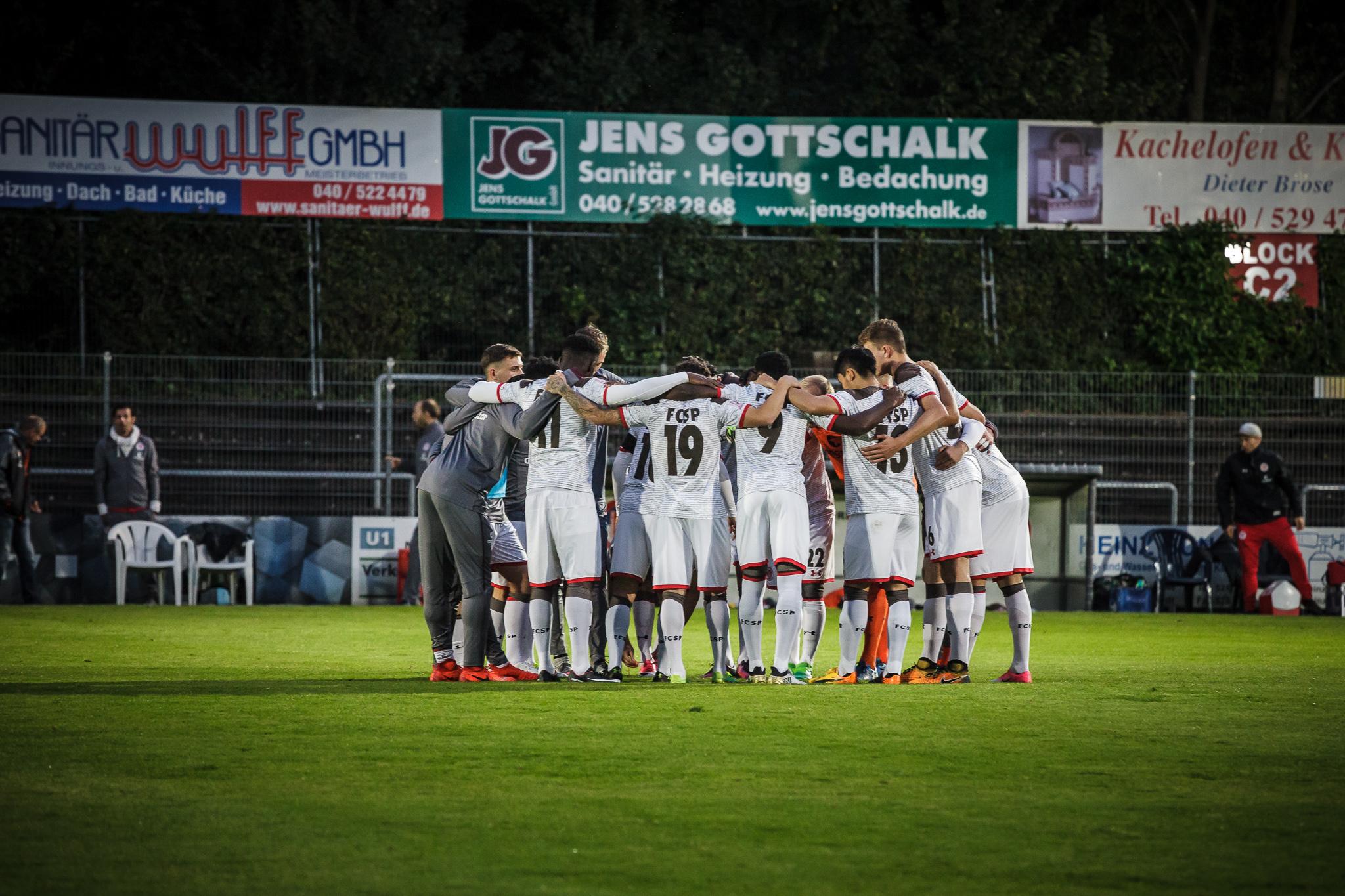 Hinrundenabschluss für U23 - Kiezkicker empfangen Braunschweig II