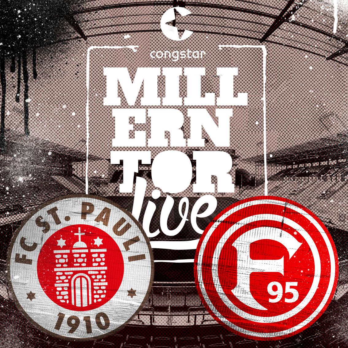 Millerntorlive – unsere Heimspielsendung gegen Düsseldorf