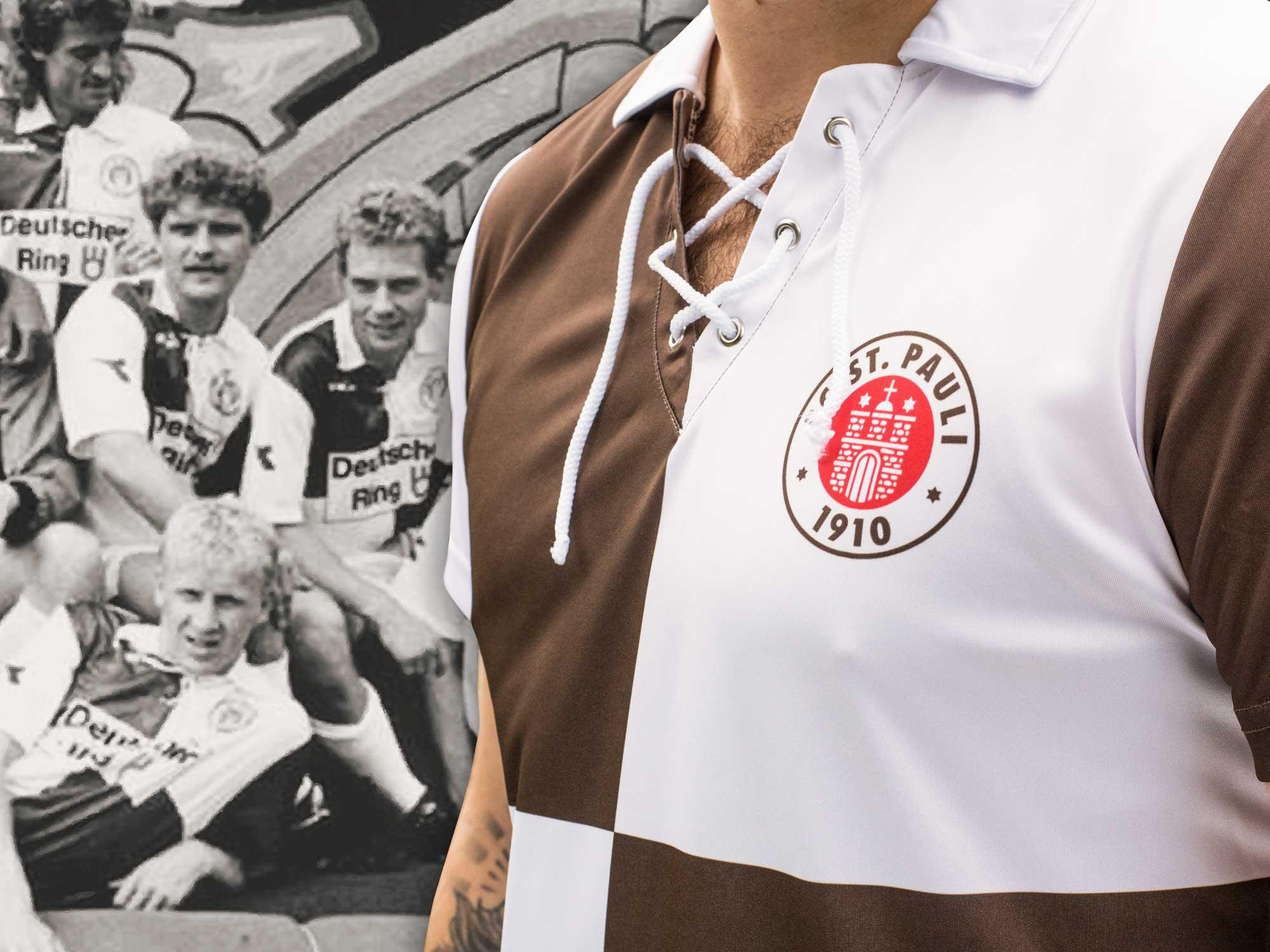 25 Jahre Karotrikot: Ein Klassiker kehrt in den FCSP-Fanshop zurück