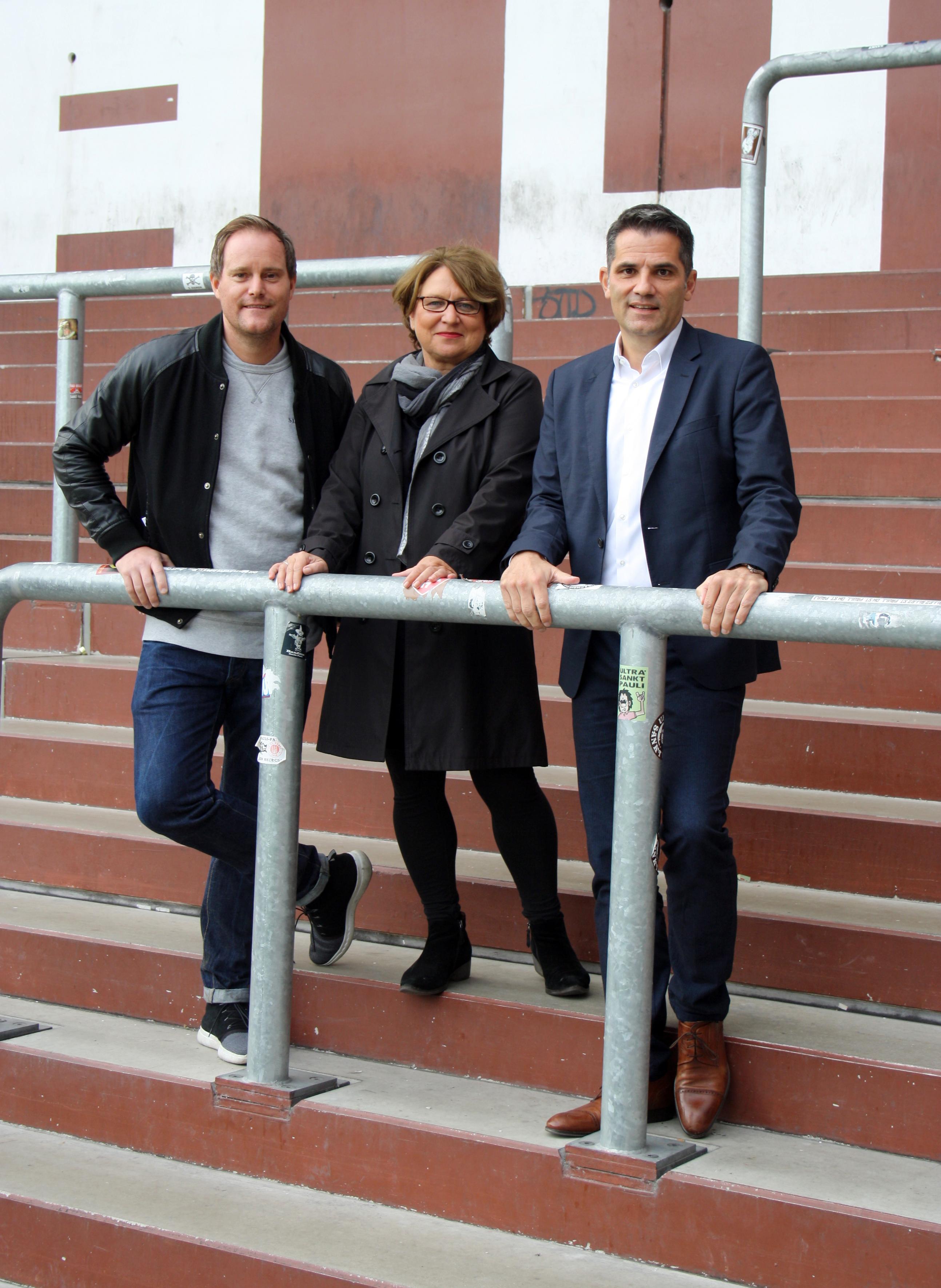 Christiane Hollander und Carsten Höltkemeyer kandidieren als VizepräsidentInnen beim FC St. Pauli