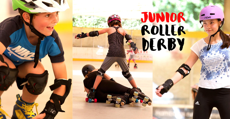 Junior Roller Derby - regelmäßiges Training für Kids