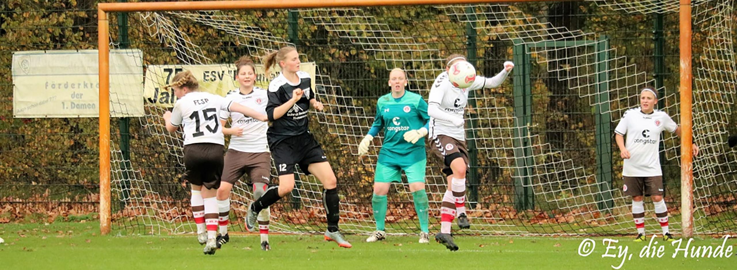 2:1-Erfolg gegen Celle - 1. Frauen übernehmen Tabellenführung