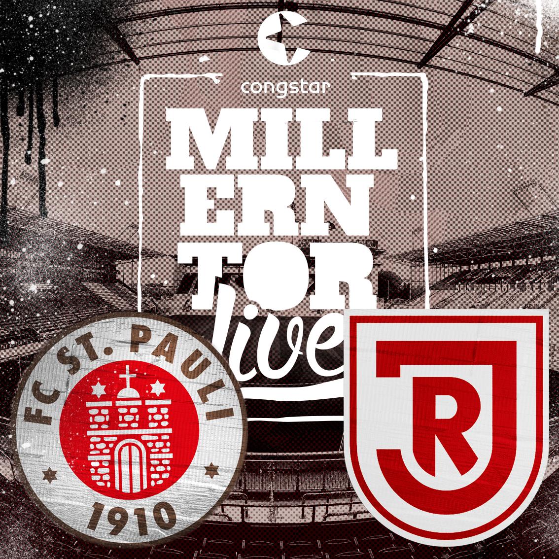 Millerntorlive – unsere Heimspielsendung gegen Regensburg