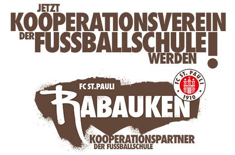 Werdet Kooperationsverein der FC St. Pauli Rabauken!