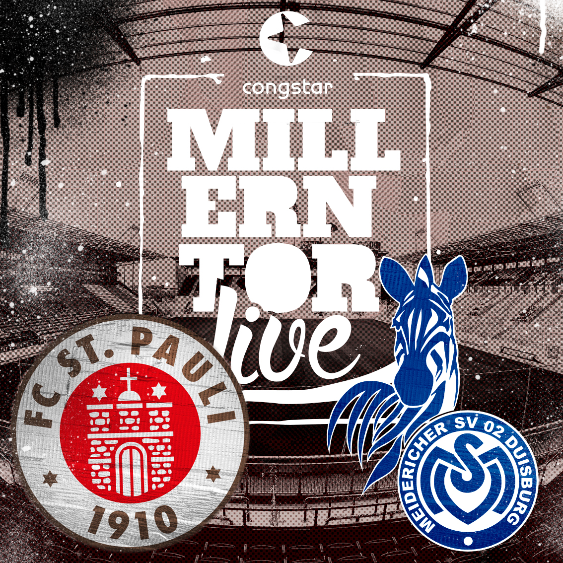 Millerntorlive – unsere Heimspielsendung gegen Duisburg