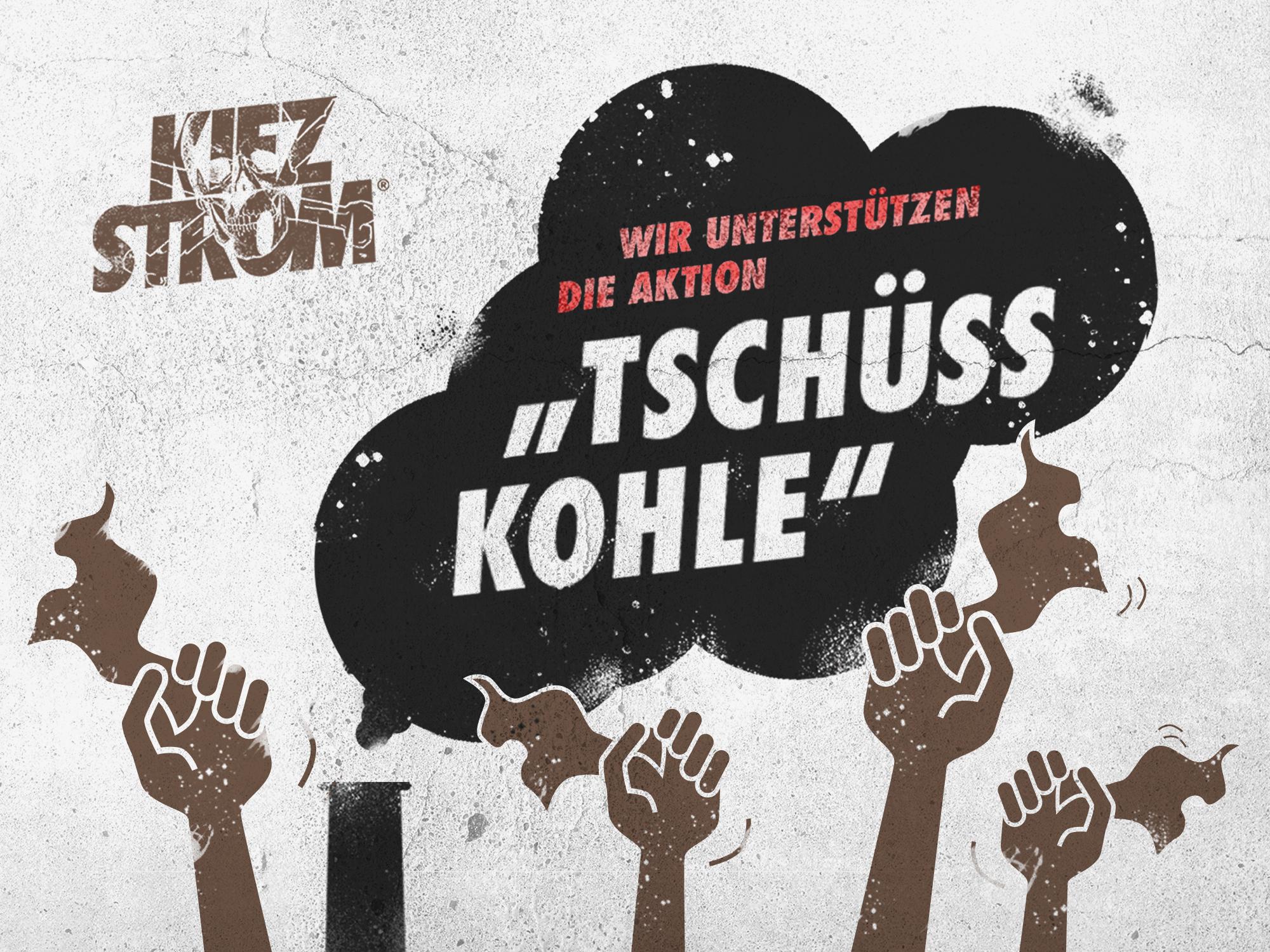 """KiezStrom unterstützt die Hamburger Volksinitiative """"Tschüss Kohle"""""""