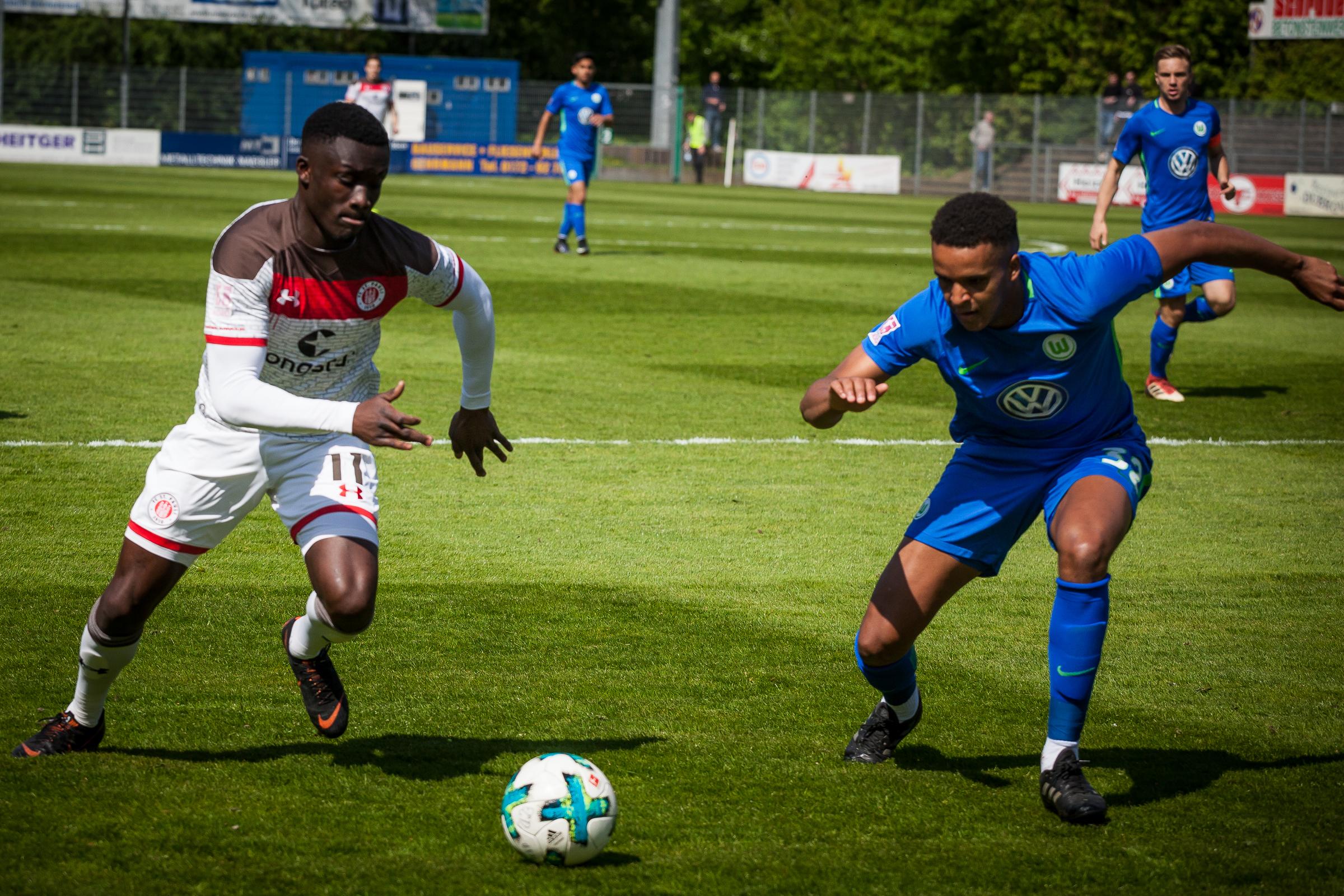 U23 will Heimserie gegen Spitzenreiter Wolfsburg II ausbauen