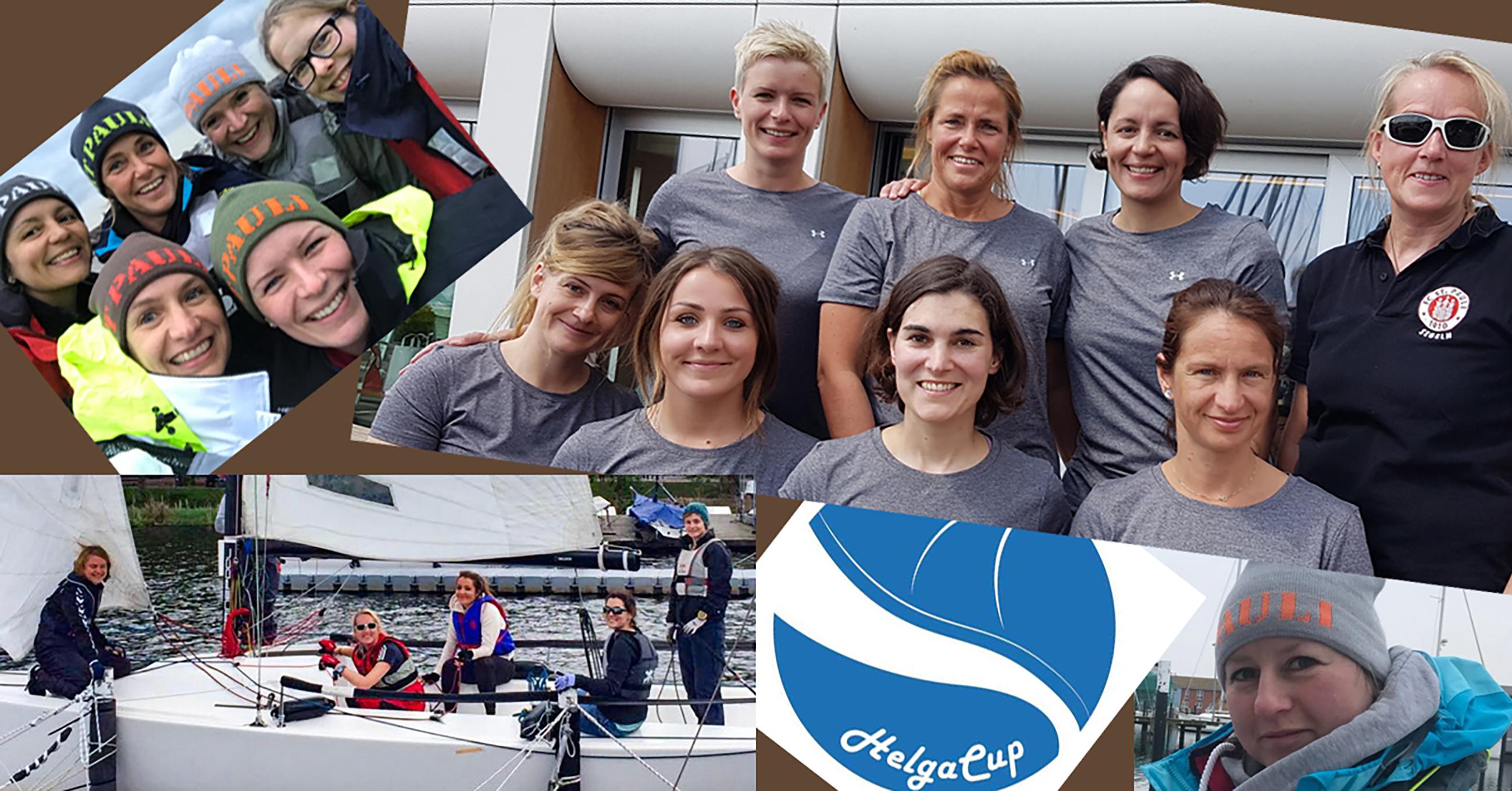 FCSP-Segelabteilung beim Helga Cup 2018 mit zwei Teams auf der Alster dabei