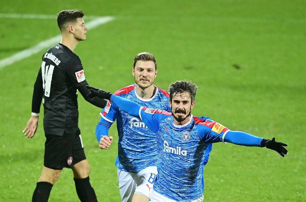 Fin Bartels and Holstein Kiel have had an excellent season, with the former St. Pauli man performing strongly, scoring three goals himself and making another four.