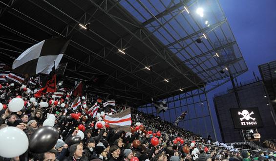 Millerntor-Stadion Fankurve