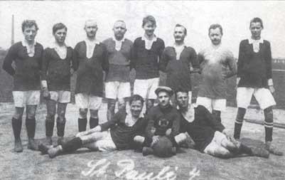 Die FC St. Pauli-Mannschaft 1907 bis 1945