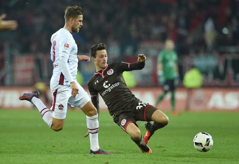 The players showed the right attitude against Nürnberg but it still ended 1-1.