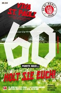 Die VIVA für das Heimspiel gegen den FCK